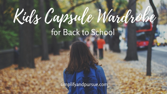 Kids Capsule Wardrobe Blog post
