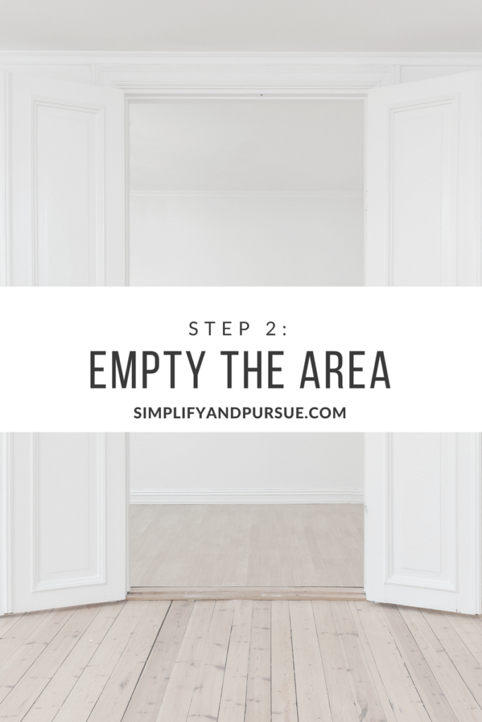 Empty the Area